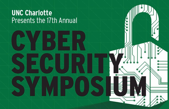 Speaking at UNCC Cyber Security Summit