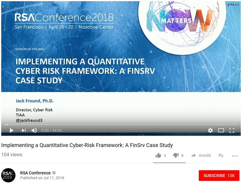 RSA 2018 PresentationVideo